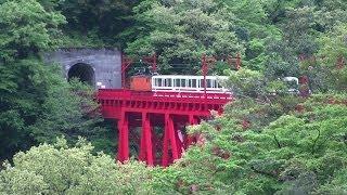 黒部渓谷鉄道の旅・車窓ほか(その1)-宇奈月→出平 Journey of Kurobe Gorge Railway Part1.