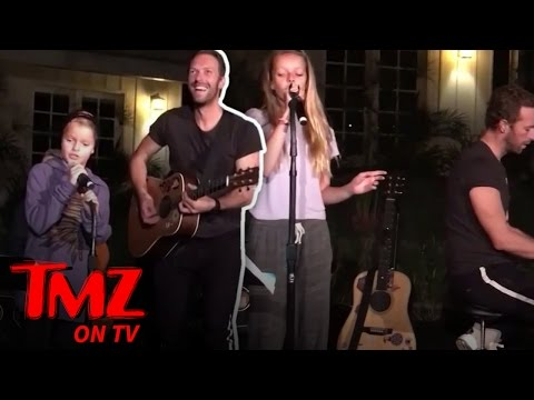 Gwyneth Paltrow and Chris Martin: Our Kids Can Sing! | TMZ TV