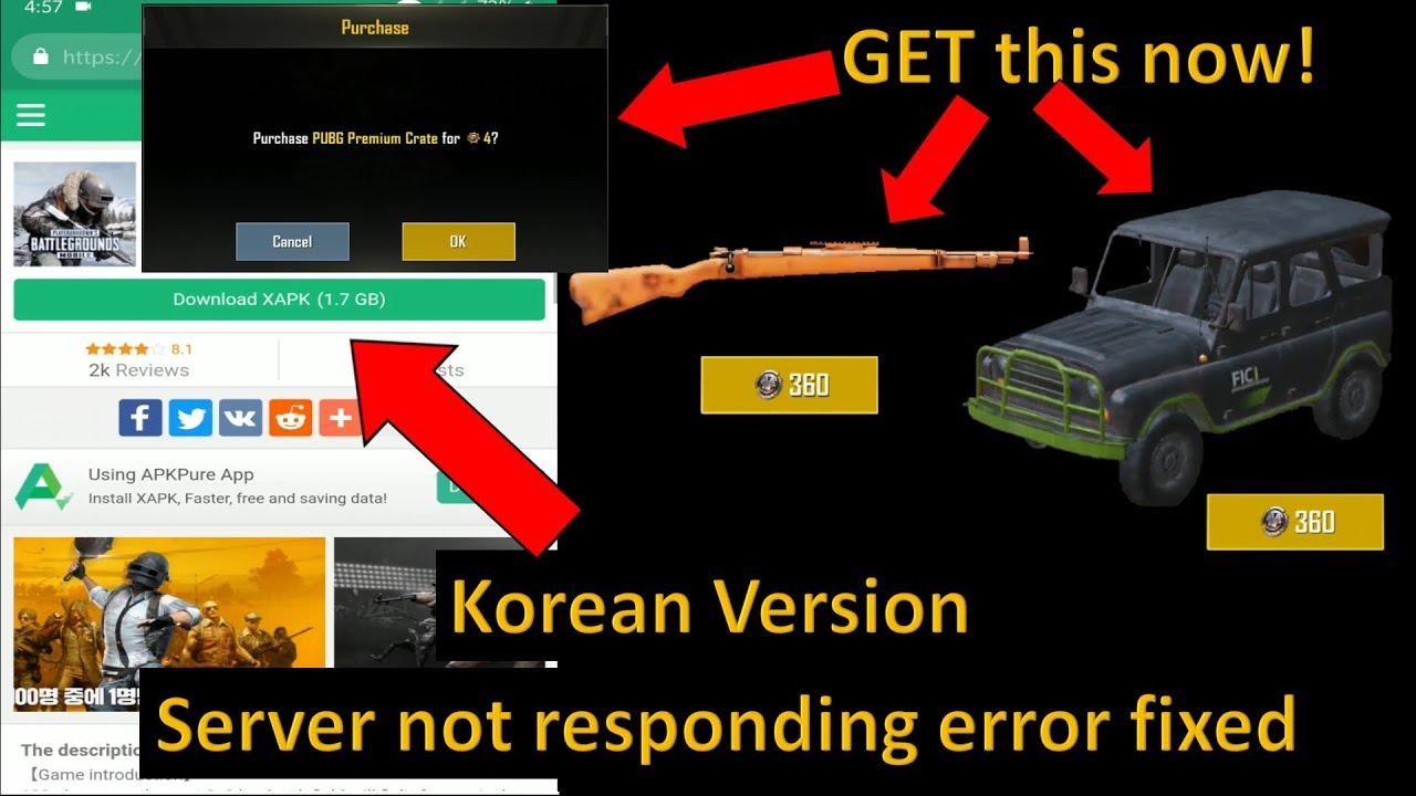 Pubg Mobile Korean Version Pubg Korean Version Download Korean