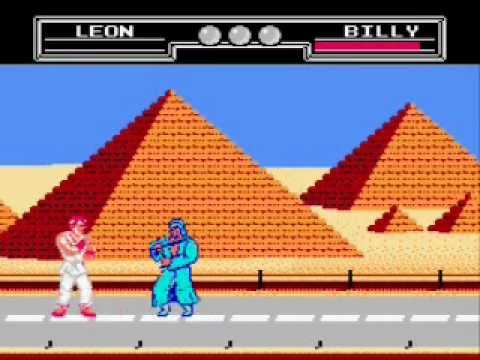 Resultado de imagem para Fighting hero nes gameplay