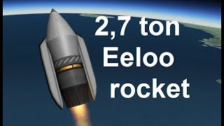 KSP - 2.7 ton rocket to eeloo