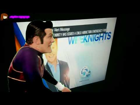 Robbie Rotten Hiding Another Scary EAS Alert