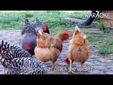[KARAOKE] Duck vs Chicken - Rap Battle! [INSTRUMENTAL] | Mr E.Owl