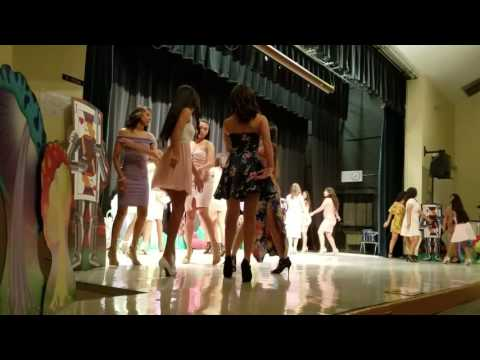 Palm Springs Middle School Hialeah 2017 Fashion Show Girls Dance
