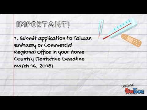 Taiwan ICDF Scholarship
