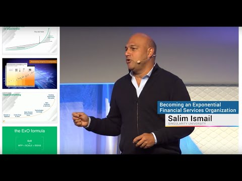 Becoming An Exponential Financial Services Organization | Salim Ismail | Exponential Finance