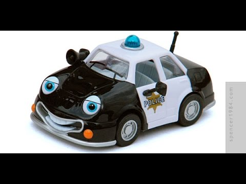 Chevron Cars Patty Patrol Police Car Toy Youtube