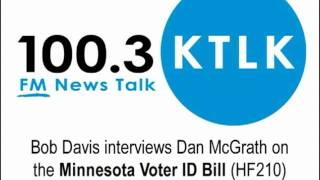Bob Davis Interviews Dan McGrath on Voter ID