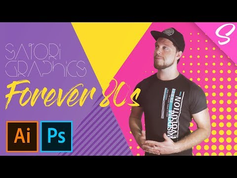 Place Yourself Into An 80s Vector Pattern (4K DESIGN TUTORIAL)