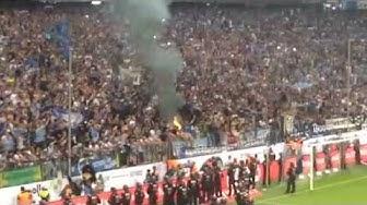 Fanvideo: Feuer in der Nordkurve - Löwen-Spieler und Fans feiern nach 2:1-Sieg gegen Kiel