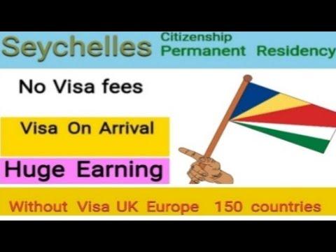 Seychelles Permanent Residency, Citizenship, huge Earning