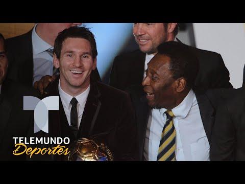 El nuevo reto de Messi: los tres récords de Pelé que puede arrebatarle | Telemundo Deportes
