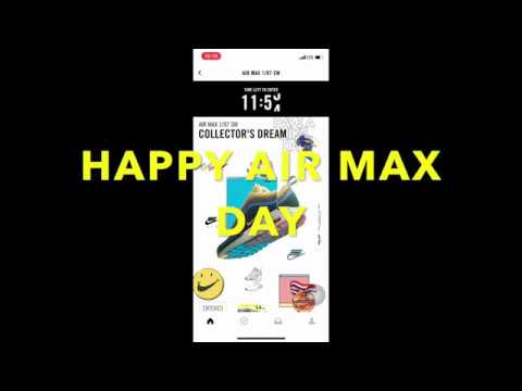 721a964b9b Happy Air Max Day 2018 - YouTube