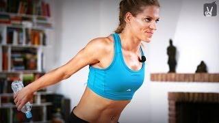 Fit in 4 Wochen - Tag 6 - Dein Workout für Brust und Arme mit Corinna Frey