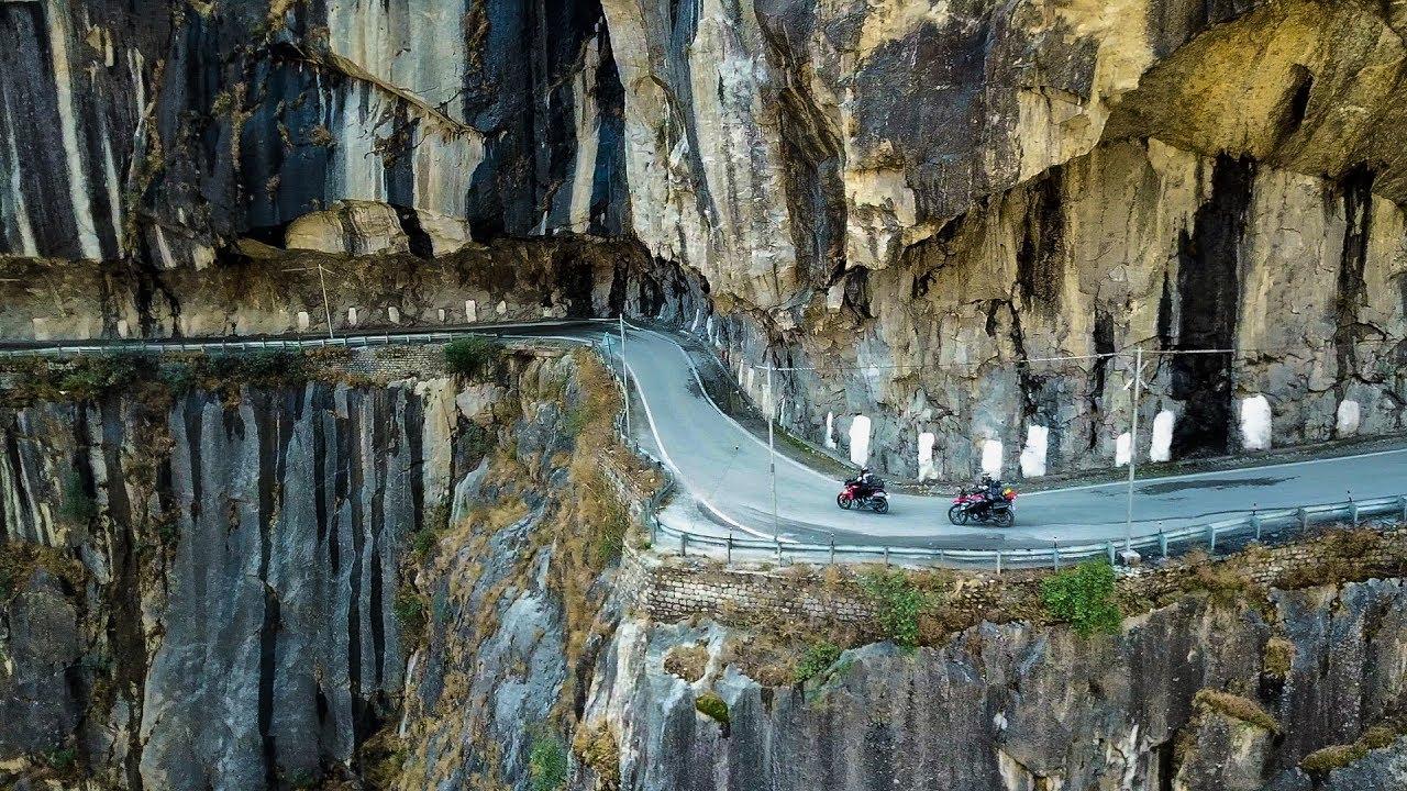 MOST DANGEROUS ROAD OF INDIA - NH 22 - Jhakri - Kinnaur - Pooh ...