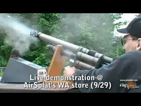 NEW Airsoft Grenade Launcher LIVE Demo at AirSplat Seattle Store! from YouTube · Duration:  1 minutes 24 seconds