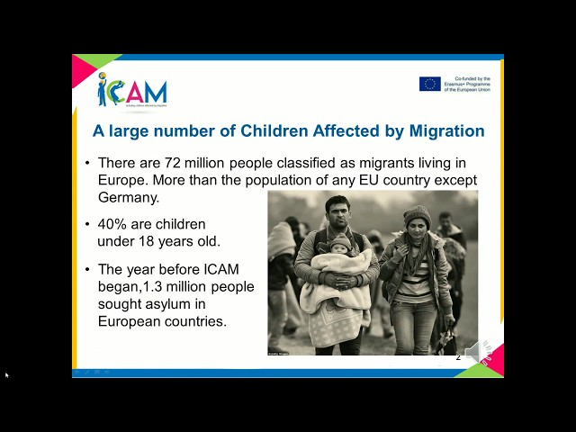 Icam project - short video of the activities