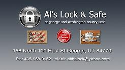 Al's Lock and Safe of St. George, Utah