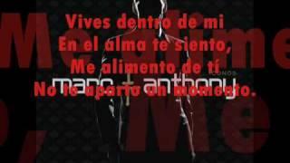 Vida - Marc Anthony  (Albúm Iconos 2010)