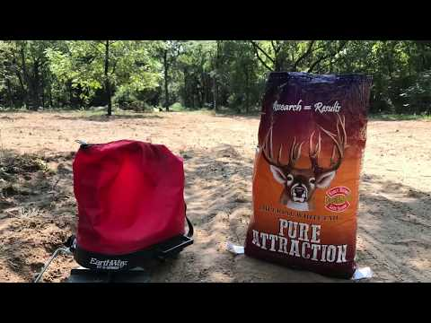Whitetail Institute - Pure Attraction vs sandy soil - part 1