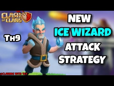 ICE WIZARD ATTACK STRATEGY | CLASH OF CLANS |