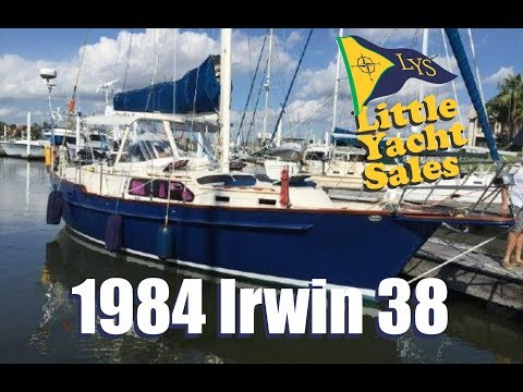 1984 Irwin 38CC Sailboat for sale at Little Yacht Sales, Kemah Texas