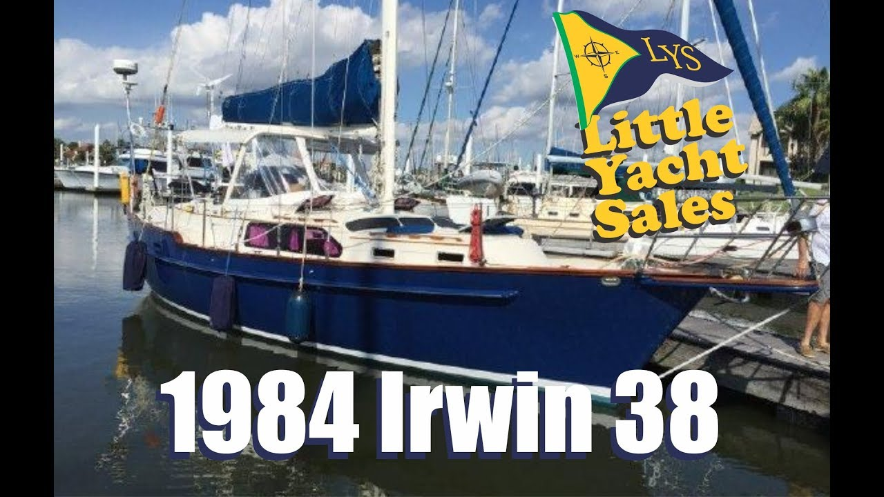 SOLD!!! 1984 Irwin 38CC Sailboat for sale at Little Yacht Sales, Kemah Texas