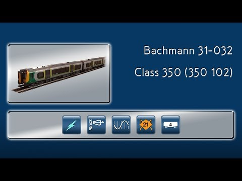 Opening the Class 350 EMU by Bachmann