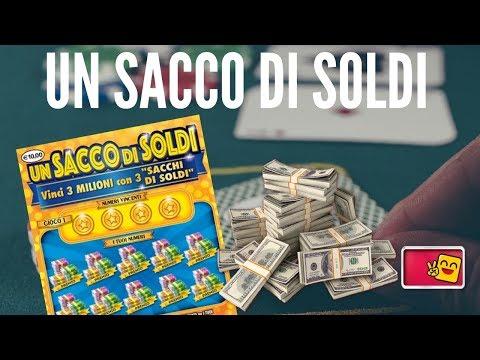 Gratta e Vinci   UN SACCO DI SOLDI   Nuovo gratta e vinci da 10 €