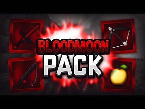 Minecraft PvP Texture Pack - Bloodmoon [64x]