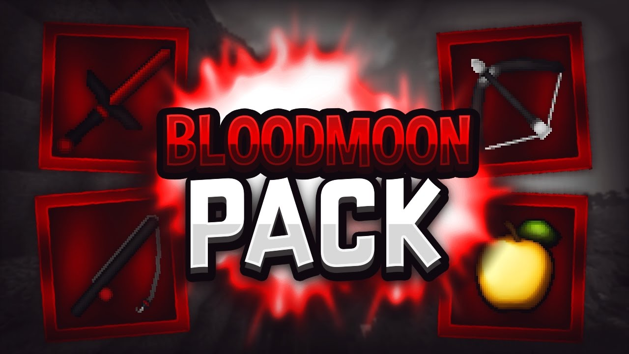 Minecraft Pvp Texture Pack Bloodmoon 64x Youtube It even makes cobblestone look good! minecraft pvp texture pack bloodmoon 64x