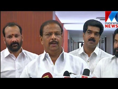 K Sudhakaran demands restructure in KPCC | Manorama News