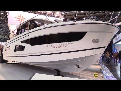 2018 Jeanneau Merry Fisher 1095 Fishing Boat - Walkaround - 2018 Boot Dusseldorf Boat Show