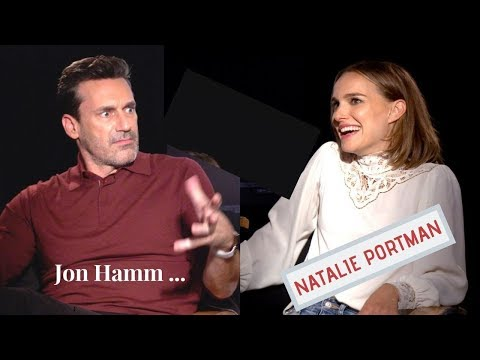 Natalie Portman On How Being A Child Star Affected Her ... Jon Hamm On FAME And Privacy (2019)