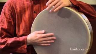 Ken Shorley - Frame Drum Lesson (1 of 2)