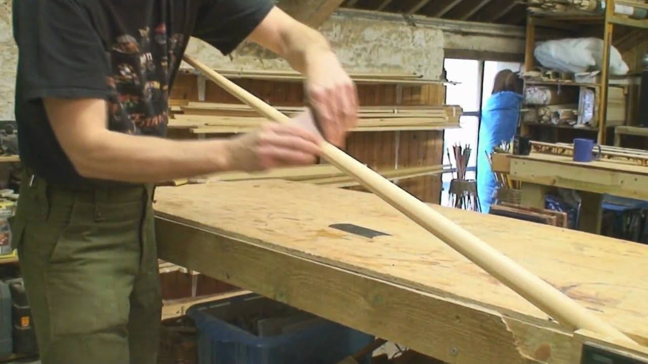 Making the Laminated English War Bow DVD - YouTube