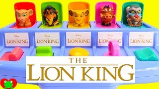 The Lion King Pop Up Surprises Learn Numbers and Colors