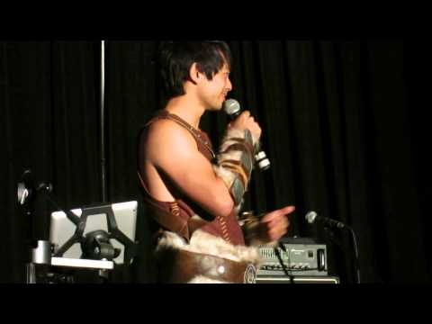 Osric Chau would you rather live with Jensen, Jared, or Misha for a year?