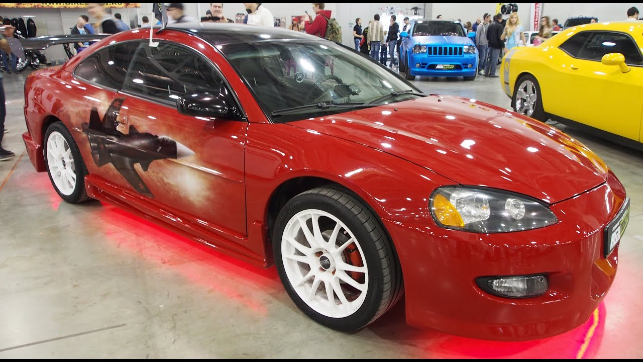 Dodge Stratus Coupe Airbrush Tuning Walkaround Moscow