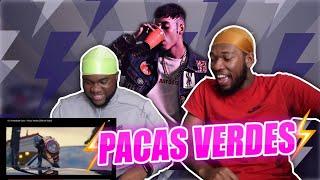 REACTING TO OVI x NATANAEL CANO - PACAS VERDES [Official Video] | COASTAL BUSTAS