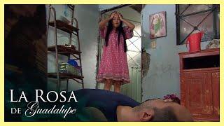 La Rosa de Guadalupe: Gracielita le pone un alto a su papá   Un buen día para amar