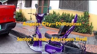 Angeles city - Santos St - Philippines Vlog #15