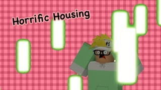HIDE FROM THE ACID RAIN!! | Roblox Horrific Houses