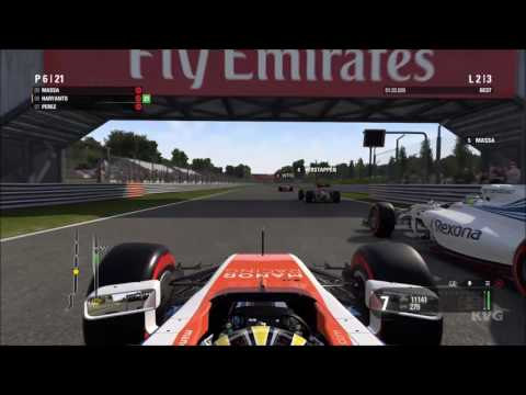 F1 2016 - Rio Haryanto Gameplay (PC HD) [1080p60FPS]