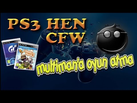 PS3 4.84 HEN - MULTIMAN'A NASIL OYUN ATILIR - TÜRKÇE 2019 - HOW TO ADD GAMES TO MULTIMAN FOR PS3