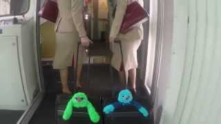 Hello Anna | Fly With Me Monsters | Emirates Airline