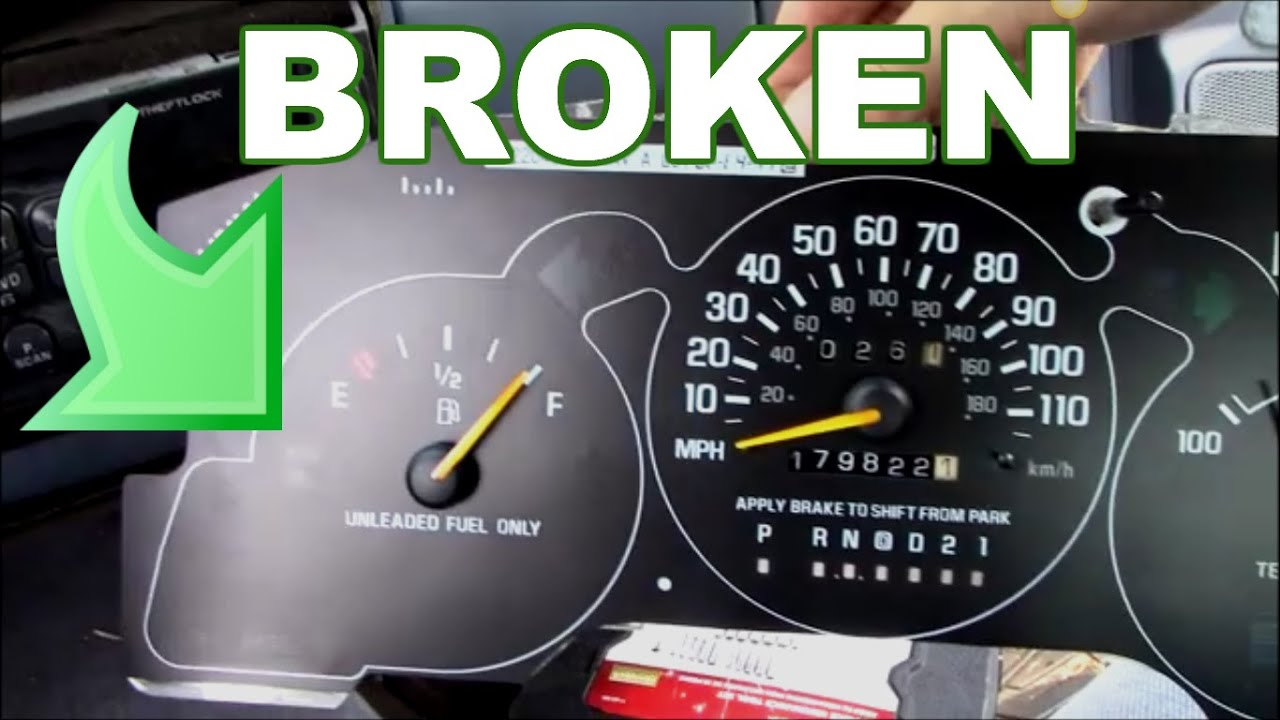 How to replace a fuel gauge that is broken
