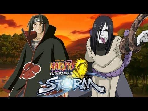 Naruto Ultimate Ninja Storm - Itachi vs Orochimaru