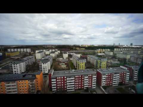Rokbomb detonerade i skarholmen