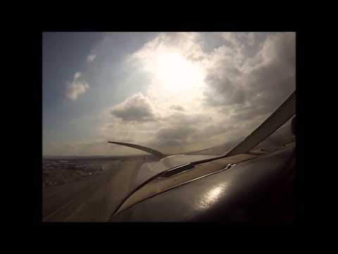 Takeoff and Landing at Cable Airport (KCCB)